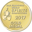 2017 San Francisco Worl Spirits Competition Gold Medal for XO Insolent Rum Dictador